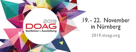 DOAG 2019 Banner